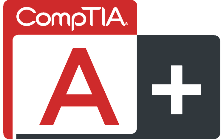 CompTIA A+ Certified IT Technician logo